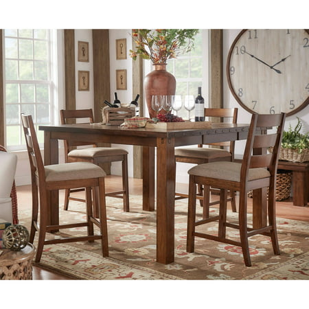 Weston Home Ronan Counter Height Rustic Chair Set Of 2