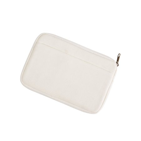 A Product of BAGedge 10 oz. Canvas Reader Sleeve - NATURAL - OS [Saving and Discount on bulk, Code Christo] - Halloweencostumes Com Discounts
