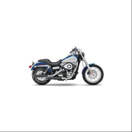 Cobra 3   Slip On Mufflers Black Fits 91 14 Harley Davidson Dyna Street Bob Fxdb