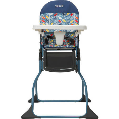 Cosco Simple Fold High Chair Leafy