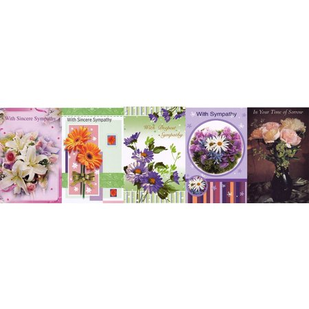 Box Of Sympathy Cards - Assorted Sympathy Greeting Cards 30 Pack