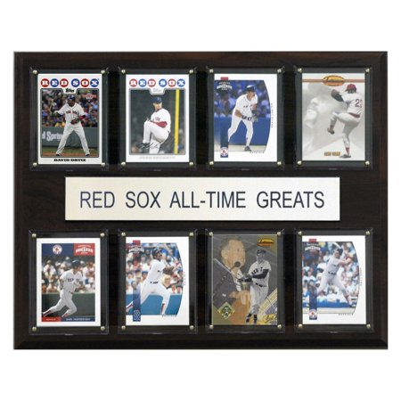 - C&I Collectables MLB 12x15 Boston Red Sox All-Time Greats Plaque