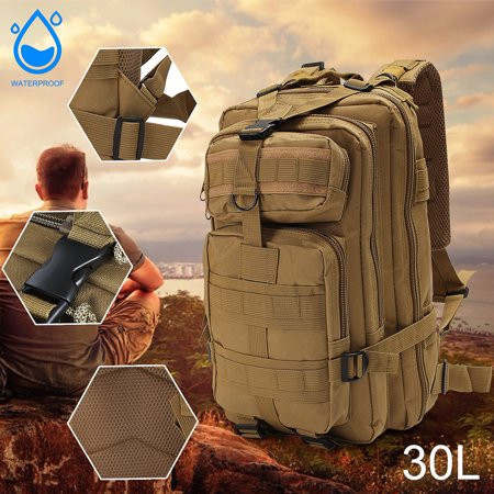 30L Waterproof Outdoor Military Rucksacks Tactical Backpack waterproof bag Sports Camping Hiking Trekking Fishing Hunting