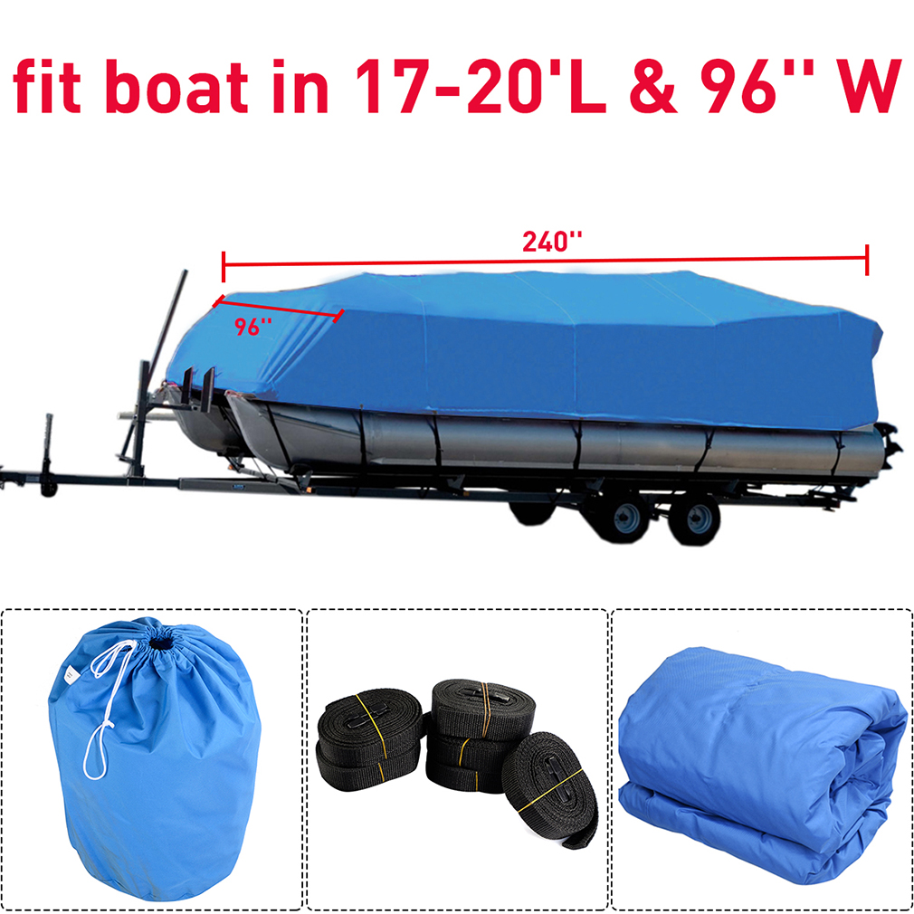 High quality Heavy-duty waterproof mooring boat cover fit...