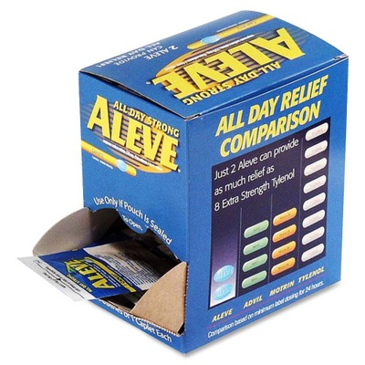 Aleve Pain Reliever Single Dose Packets ACM90010