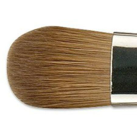 Old Holland Kolinsky Sable Brush 7004 Filbert Long Handle (Sable Filbert)