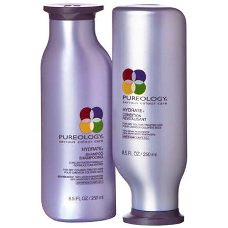 Pureology Hydrate Shampoo & Conditioner Duo Set, 8.5 Fl Oz