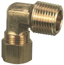Brasscraft 69-6-4X 3//8 OD  by 1//4-Inch  Male Reducing Elbow Lead-Free Rough Brass