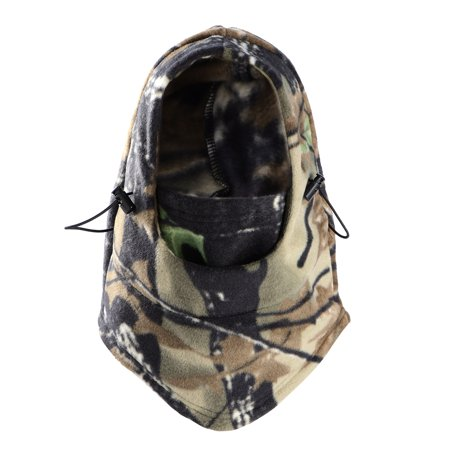Outdoor Thermal Full Face Hood Mask Hat Neck Warmer