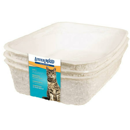 Littermaid Disposable Cat Litter Pan For Cats, Pack of - Halloween Kitty Litter Cake
