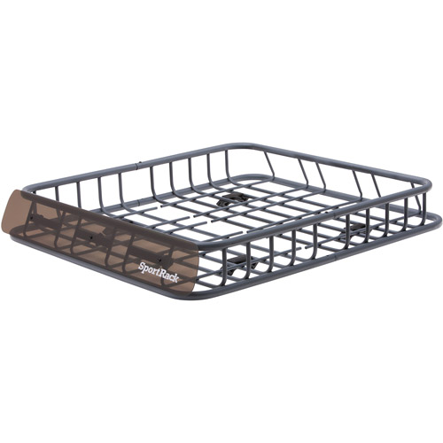 SportRack Roof-Mounted Cargo Basket, Granite Gray