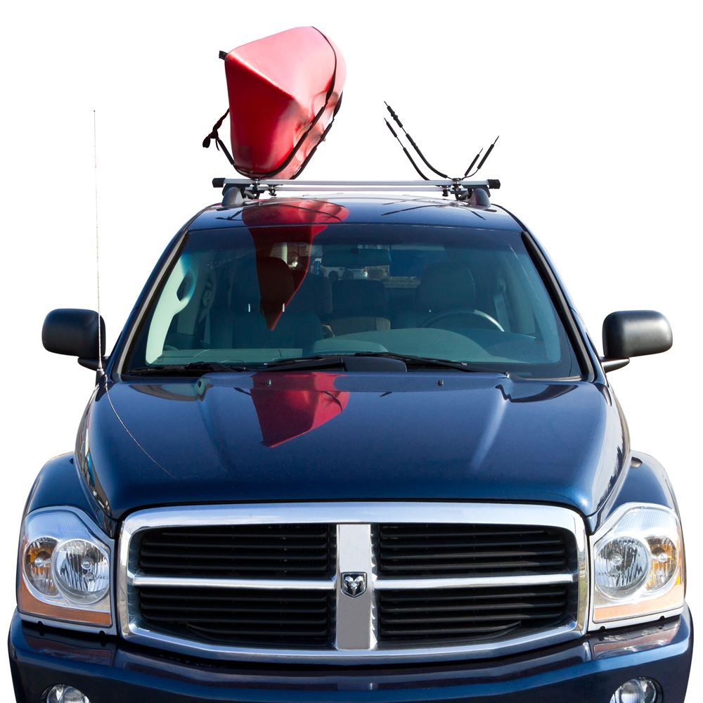 Kayak Roof Rack For Cars >> Kayak Or Canoe Vehicle Roof Carrier Rack Walmart Com