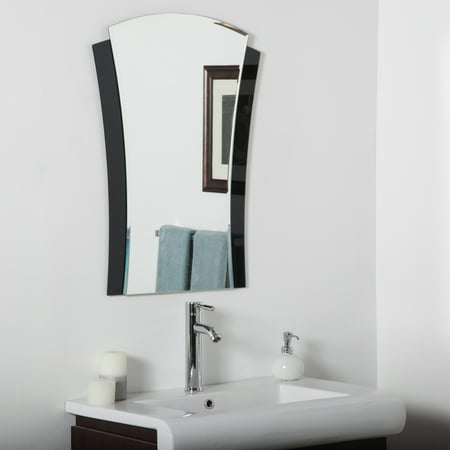 Décor Wonderland Deco Bathroom mirror 23.6 inx31.5 - Art Deco Bathroom Fixtures
