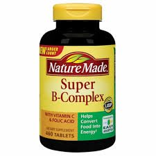 Nature Made Super B Complex Tablets , New Larger Count , 460 (Hayfever Complex)