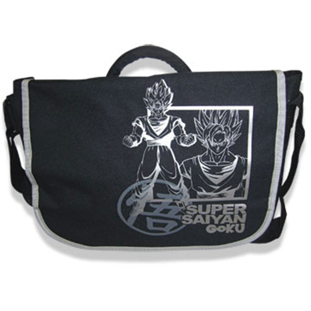 Dragon Ball Z Super Saiyan Goku Anime Messenger Bag