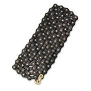 Bell Sports 7015886 Links 500 Standard Bicycle Chain, Black – 1/2 inch x 3/32 inch 112 links