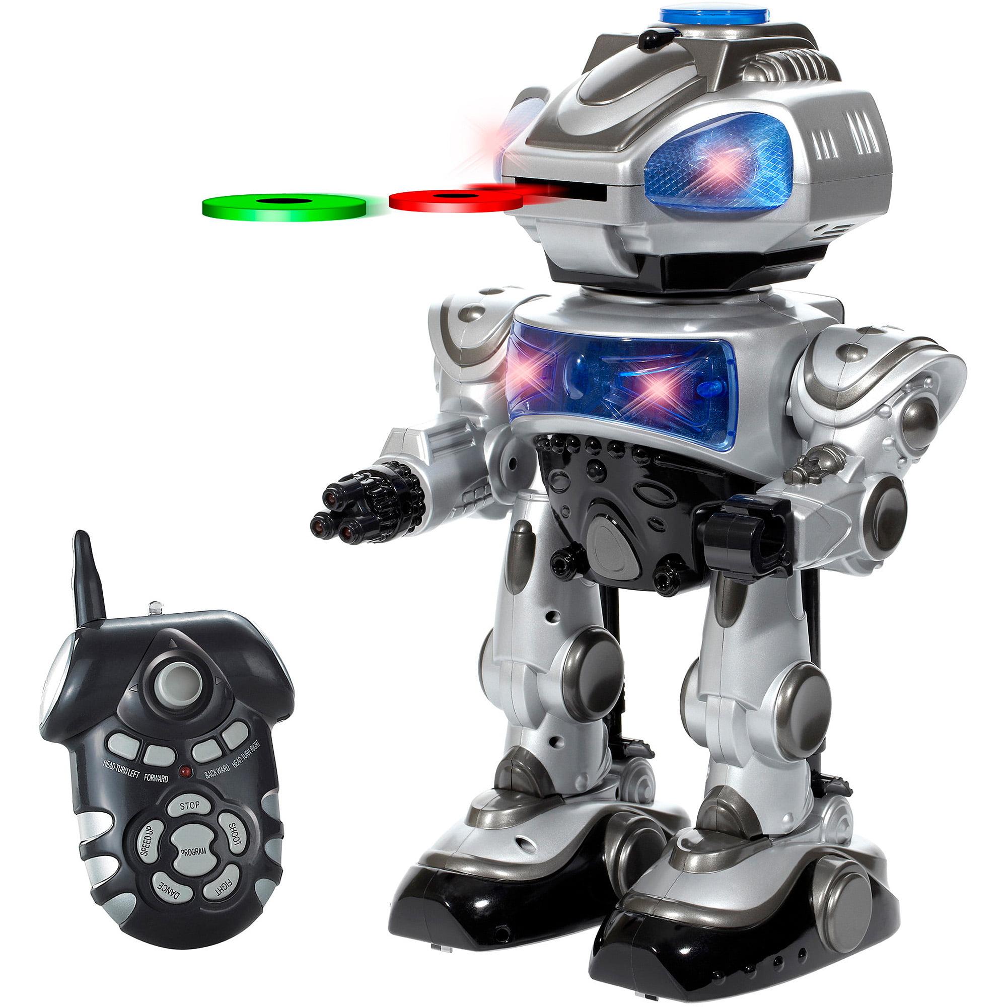 World Tech Toys RoboKid Programmable Disc Shooting RC Robot