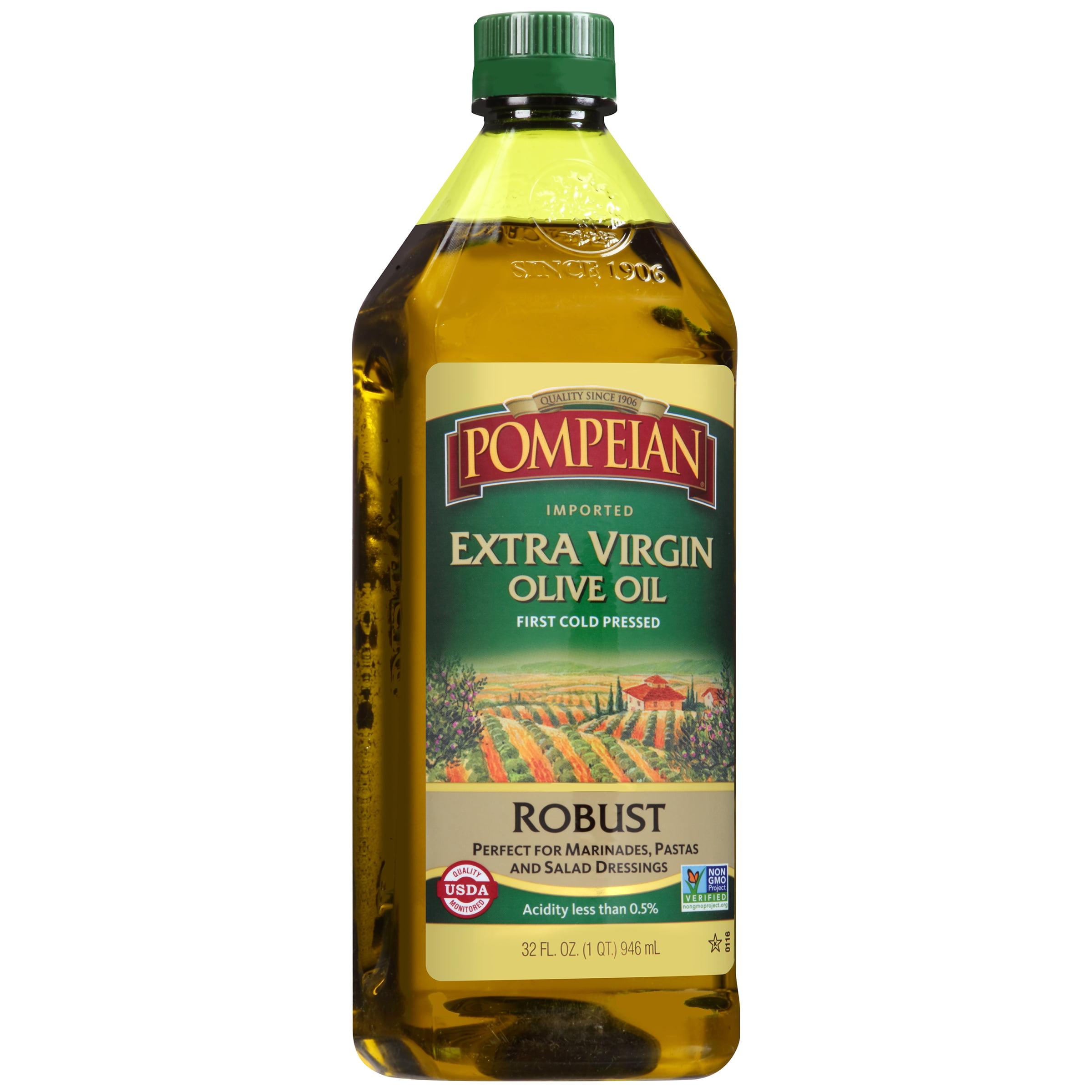 Pompeian® Robust Imported Extra Virgin Olive Oil 32 fl. oz. Plastic Bottle