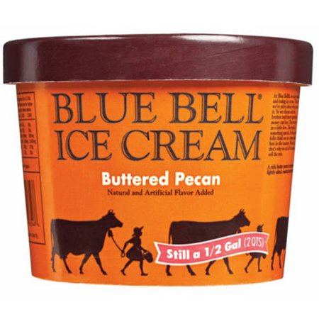 Blue Bell Moo-llennium Crunch Ice Cream - 64oz