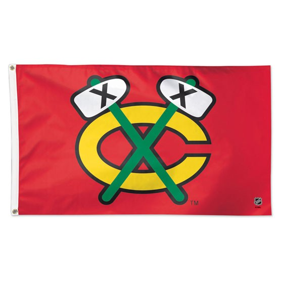 Chicago Blackhawks Official NHL 3' X 5' Banner Flag by Wincraft
