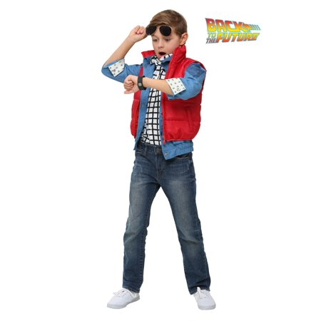 Back to the Future Child Marty McFly Costume (Back To School Costume)