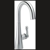 Delta Single Handle Bar Faucet, Chrome