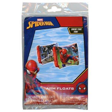 Inflatable Floaties (Marvel Spider-Man Inflatable Arm Floaties Kids Summer Pool)