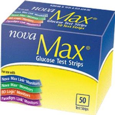 Sanvita   Nova Max Cbgm Llc Test Strip  50 Count