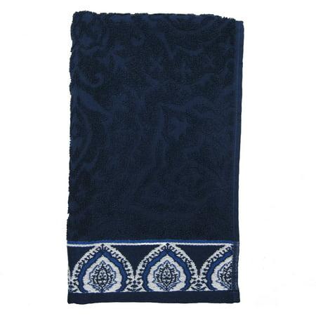 Better Homes And Gardens Indigo Arabesque Hand Towel