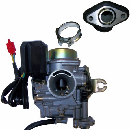 20mm TaoTao 50cc 50 Carburetor & Intake Manifold Boot Scooter Moped Carb -
