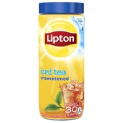 Lipton Unsweetened Black Iced Tea Mix, 30 qt