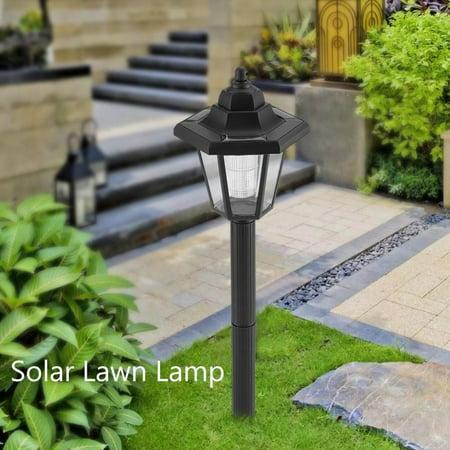 Solar Ed Led Lawn Lamp Outdoor Garden Landscape Yard Pathway Lighting Security Light
