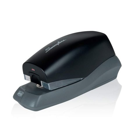 Automatic Stapler, Breeze, 20 Sheet Capacity, Battery Powered, Black (42132), DURABLE AUTOMATIC STAPLER – Automatic stapler combines the durability of sturdy,.., By Swingline