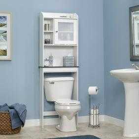 WyndenHall Hayes White Bathroom Space Saver Cabinet Walmartcom - Wyndenhall hayes white bathroom space saver cabinet