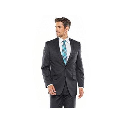 Van Heusen Classic-Fit Patterned Suit Jacket  Men (Best Low Cost Suits)