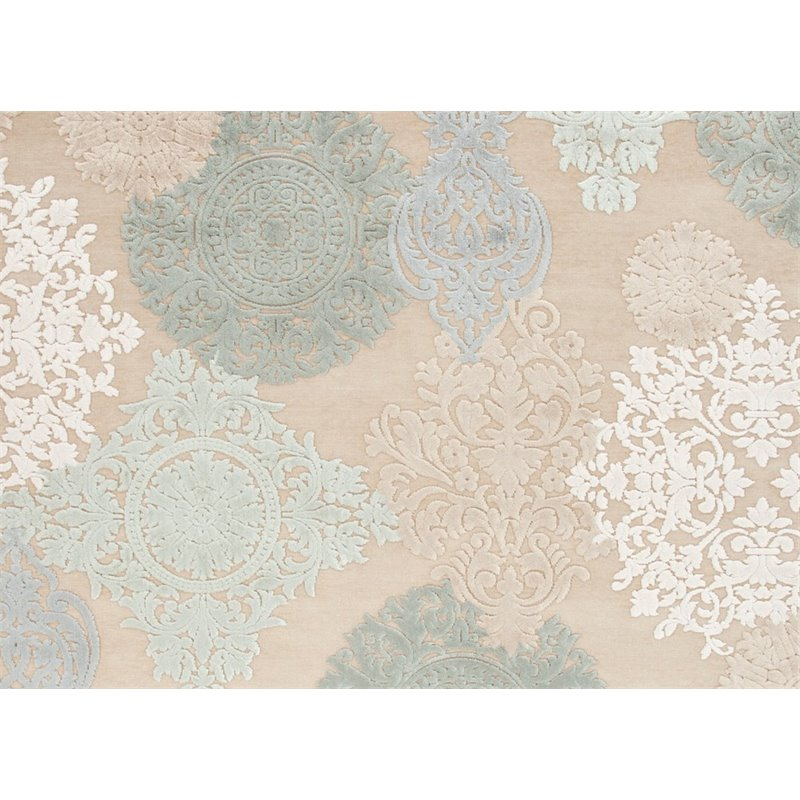 Jaipur Rugs Fables 6' x 6' Square Rayon and Chenille Rug