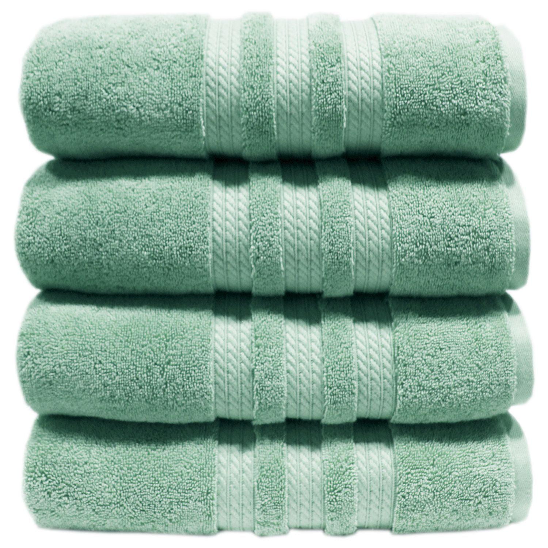 "100% Cotton Luxury Bath Towel - 30"" x 58"" - Light Blue"