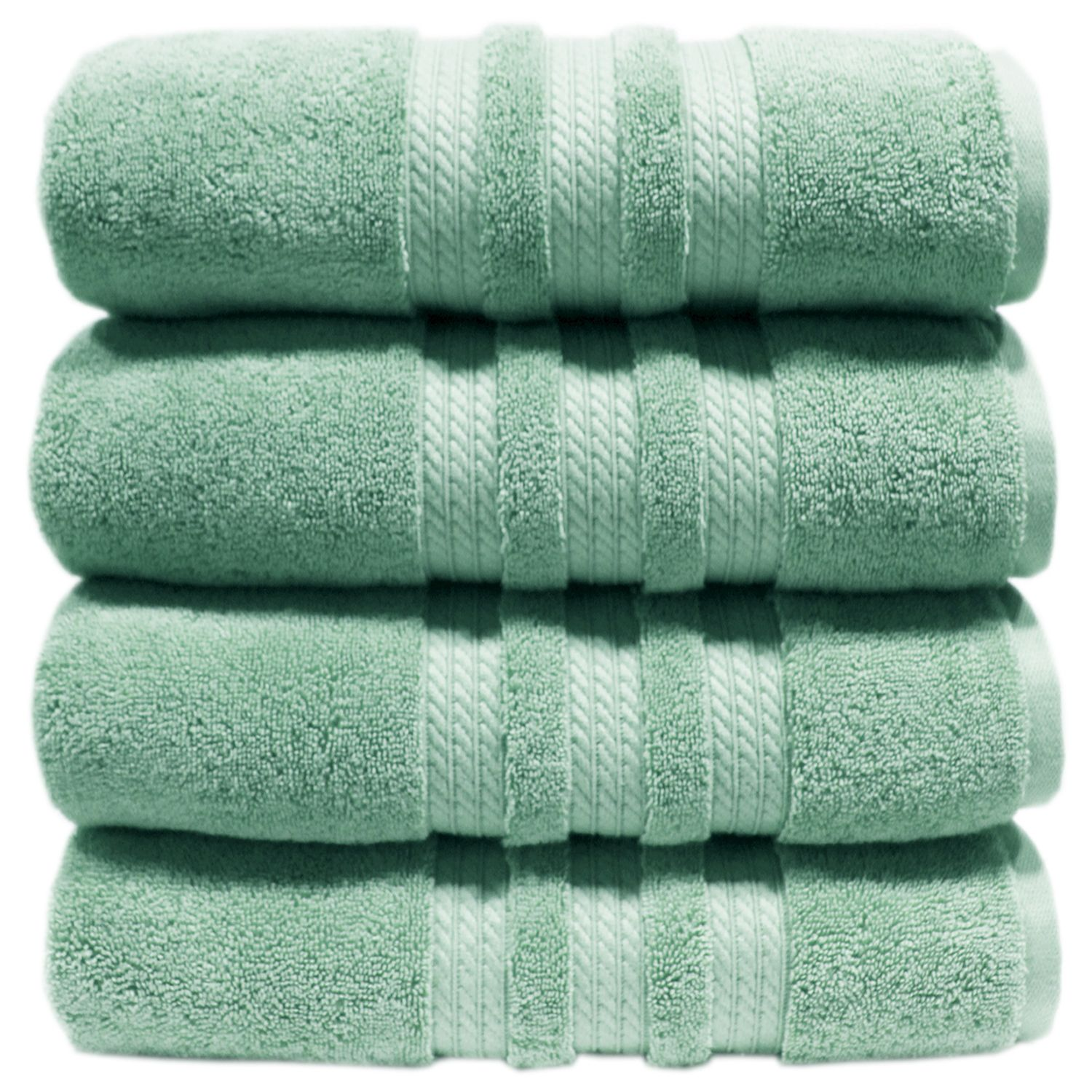 "100% Cotton Luxury Bath Towel - 30"" x 58"" - Light Blue"