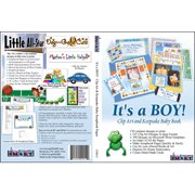 ScrapSMART Its a BOY! Clip-Art CD-ROM: 525 Designs for Quilt, Sew, Cards and Scrapbooks
