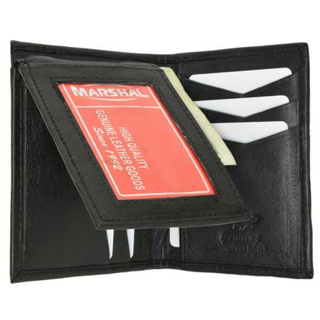 Presley Brown Leather - Mens Leather L Shape Bifold Wallet 139 CF (C) Brown