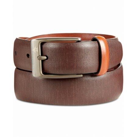 Original Penguin Sun Tanned Men's Leather Belt