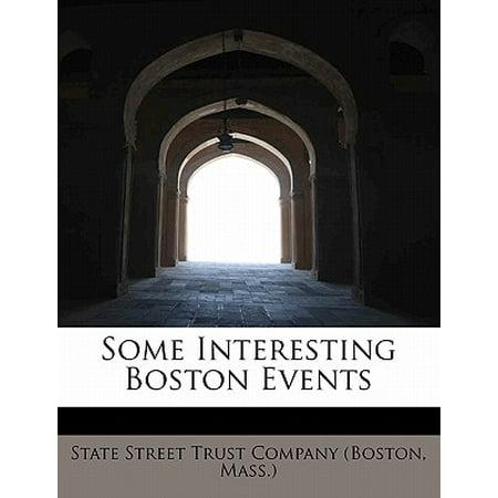 Halloween Events In Boston (Some Interesting Boston)
