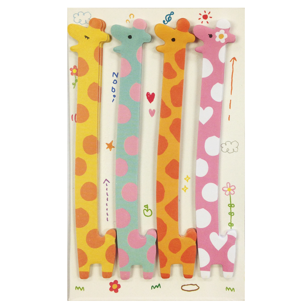 Wrapables® Giraffe Bookmark Flag Index Tab Sticky Notes