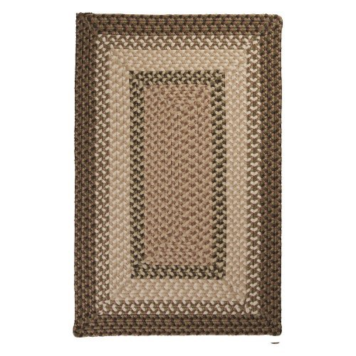Colonial Mills TB69R Tiburon Indoor/Outdoor Braided Rug - Spruce Green