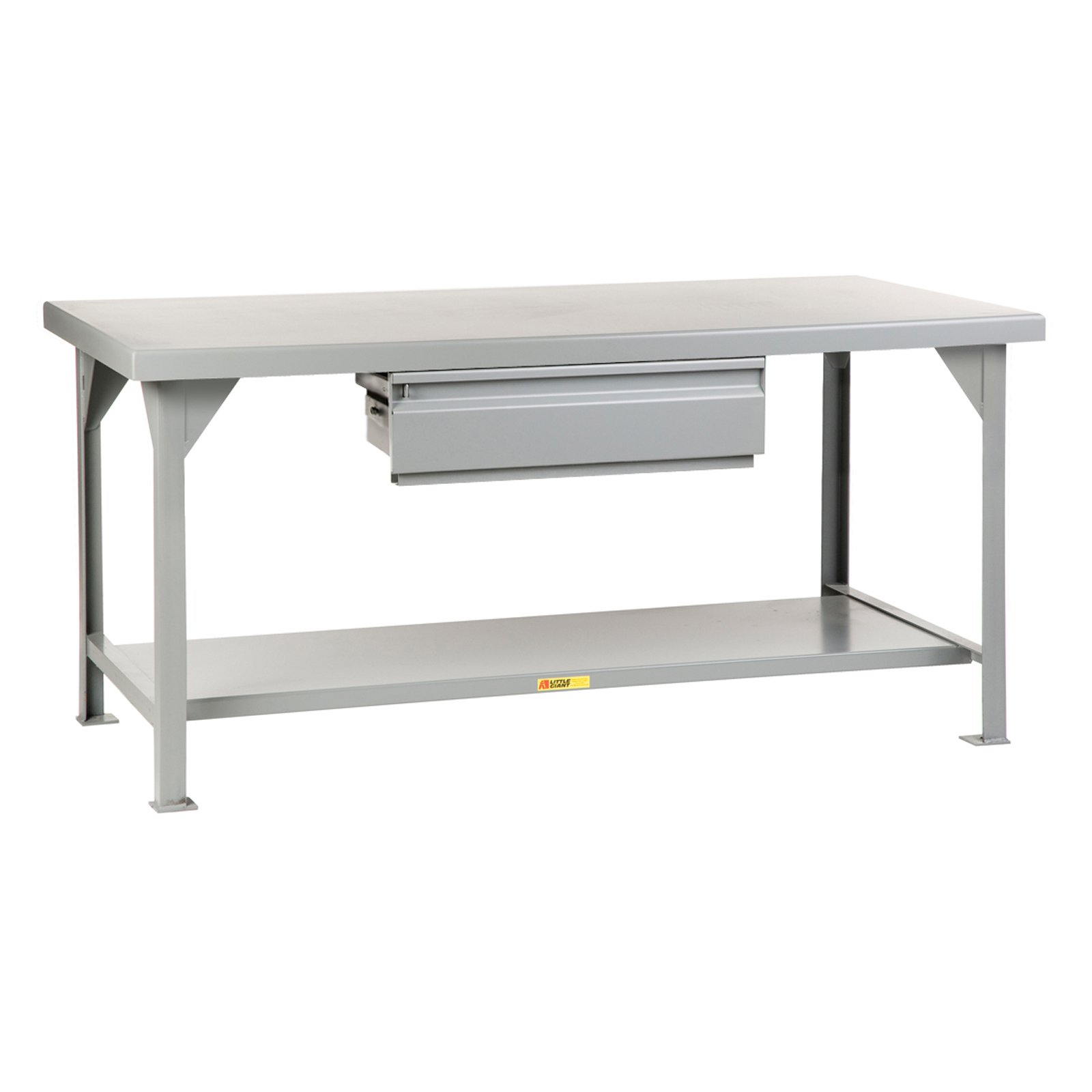 Little Giant Heavy-Duty Workbench with Drawer Fixed 30 x 48 in. by Brennan Equipment and Manufacturing Inc