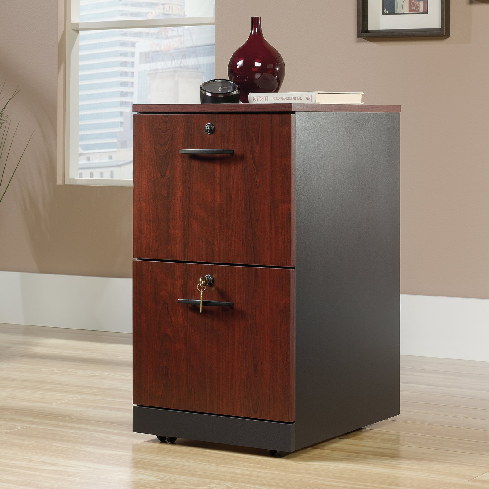 Sauder Via 2 Drawer File Cabinet - Walmart.com