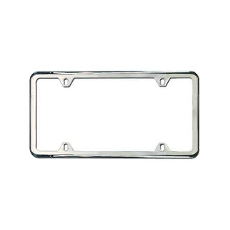 Genuine OE Audi Slimline License Plate Frame With Audi Rings