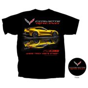 C7 Corvette - Z06 Corvette Racing T-shirt : Black (XL)