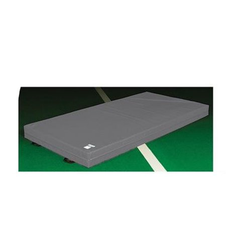 Fisher Lm810 Football Landing Mat  5W X 10L X 8 H  Gray