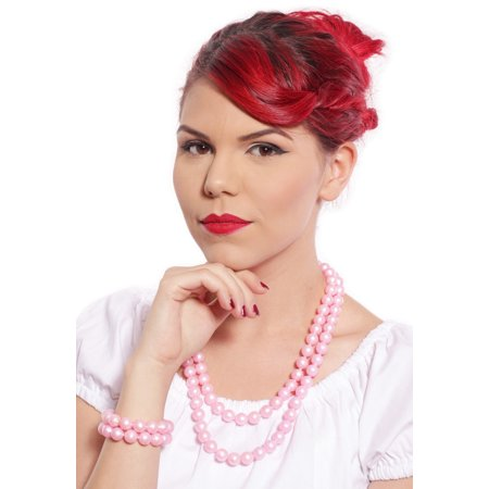 Pink Pop Beads - Fun 50s Retro Jewelry Crafting by Hey Viv
